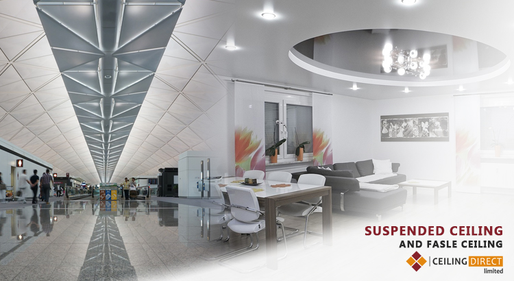 Best Reasons How A Suspended Ceiling Differs From False Ceiling