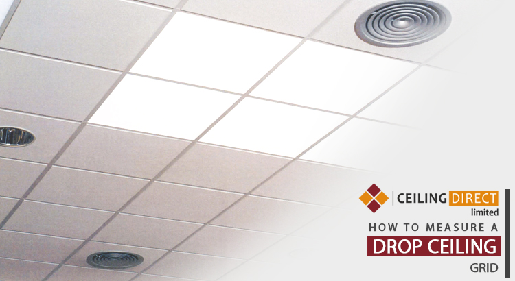 How Do You Measure a Drop Ceiling Grid